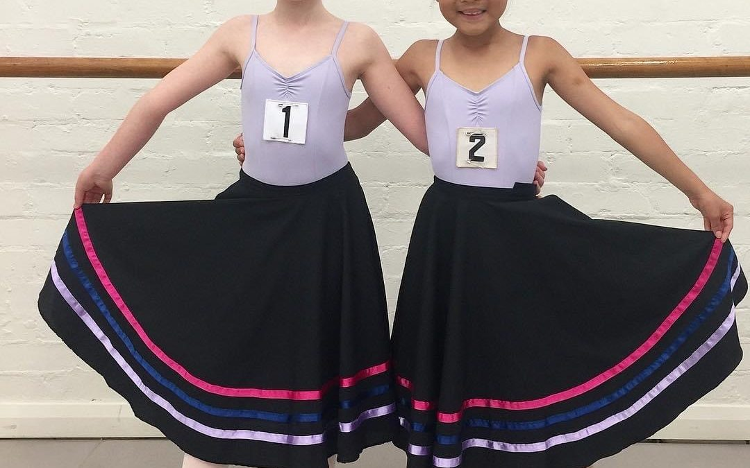 Supporting one another in dance lessons